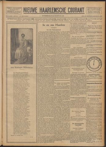Nieuwe Haarlemsche Courant 1928-08-30