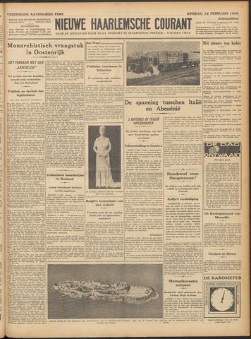 Nieuwe Haarlemsche Courant 1935-02-12