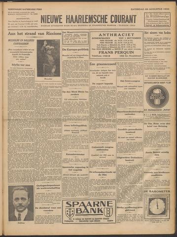 Nieuwe Haarlemsche Courant 1933-08-26