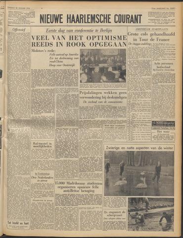 Nieuwe Haarlemsche Courant 1954-01-26