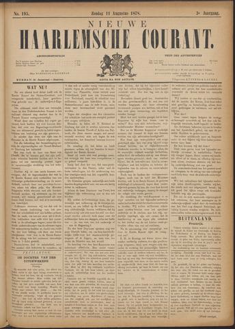 Nieuwe Haarlemsche Courant 1878-08-11