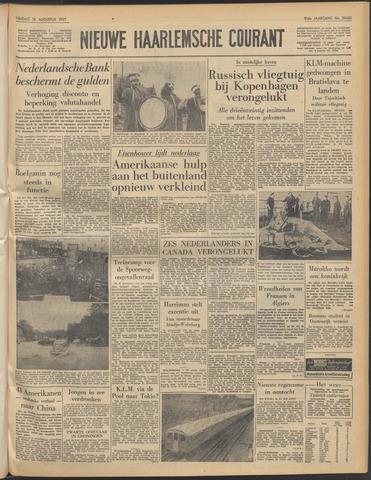 Nieuwe Haarlemsche Courant 1957-08-16