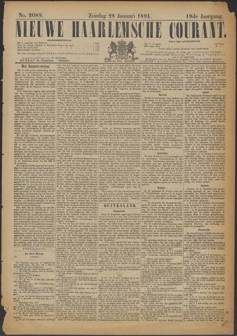 Nieuwe Haarlemsche Courant 1894-01-28