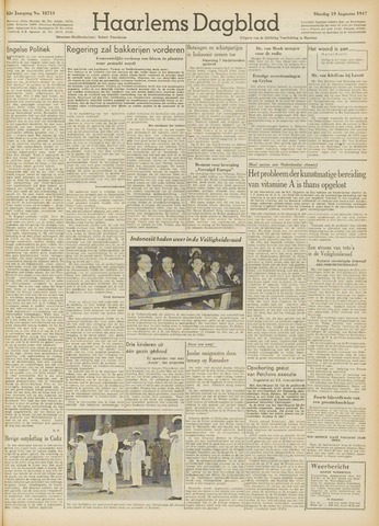 Haarlem's Dagblad 1947-08-19