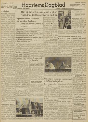 Haarlem's Dagblad 1947-06-27