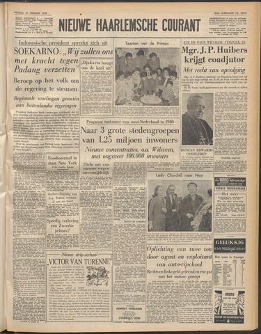 Nieuwe Haarlemsche Courant 1958-02-21