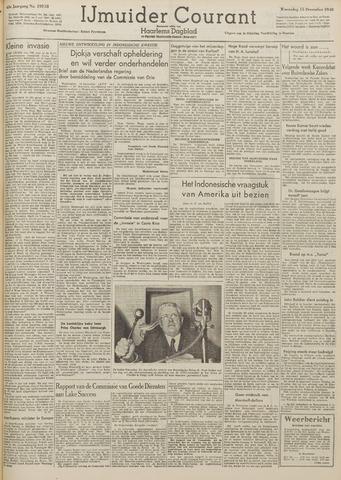 IJmuider Courant 1948-12-15