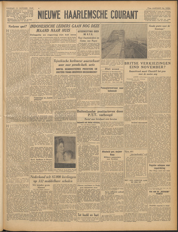 Nieuwe Haarlemsche Courant 1949-10-11