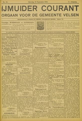 IJmuider Courant 1916-09-13