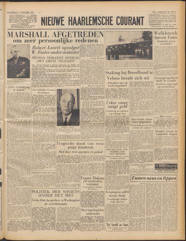 Nieuwe Haarlemsche Courant 1951-09-13