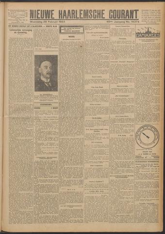 Nieuwe Haarlemsche Courant 1923-02-28