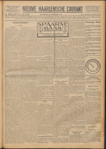 Nieuwe Haarlemsche Courant 1927-12-24