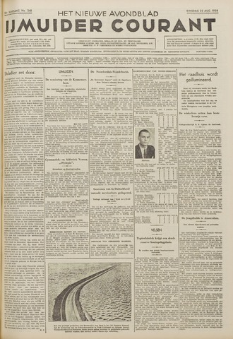 IJmuider Courant 1938-08-23