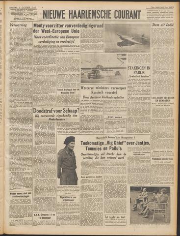 Nieuwe Haarlemsche Courant 1948-10-05