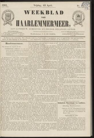 Weekblad van Haarlemmermeer 1861-04-12