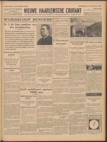 Nieuwe Haarlemsche Courant 1935-08-07