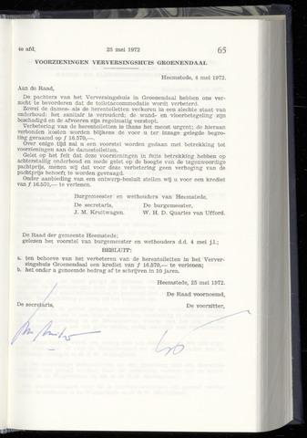 Raadsnotulen Heemstede 1972-05-25