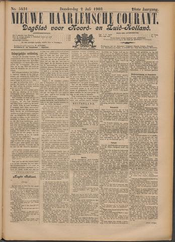 Nieuwe Haarlemsche Courant 1903-07-02