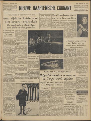 Nieuwe Haarlemsche Courant 1959-11-18