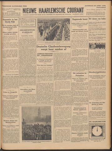 Nieuwe Haarlemsche Courant 1936-04-25