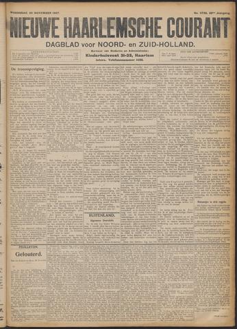 Nieuwe Haarlemsche Courant 1907-11-20