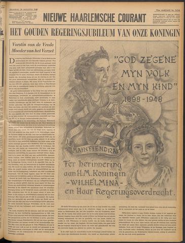 Nieuwe Haarlemsche Courant 1948-08-30