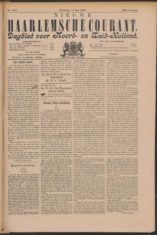 Nieuwe Haarlemsche Courant 1898-06-15