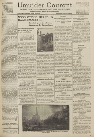 IJmuider Courant 1939-05-12