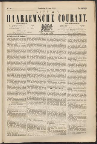 Nieuwe Haarlemsche Courant 1884-06-12
