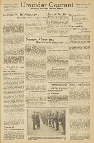 IJmuider Courant 1945-12-01