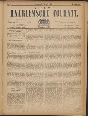 Nieuwe Haarlemsche Courant 1879-02-23