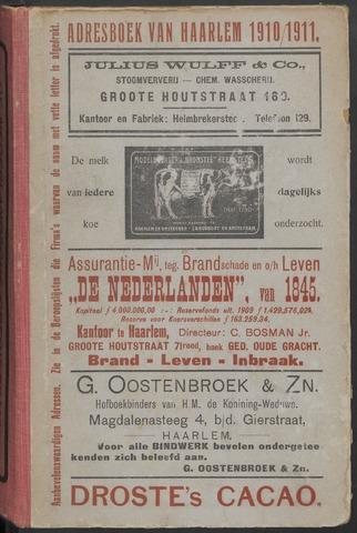 Adresboeken Haarlem 1910