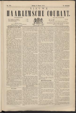 Nieuwe Haarlemsche Courant 1884-03-23