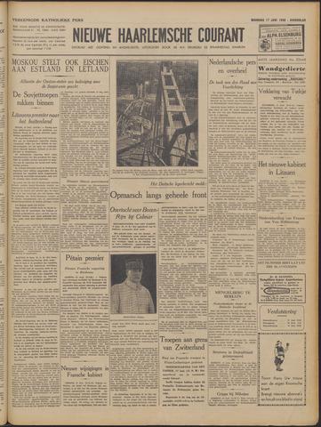 Nieuwe Haarlemsche Courant 1940-06-17