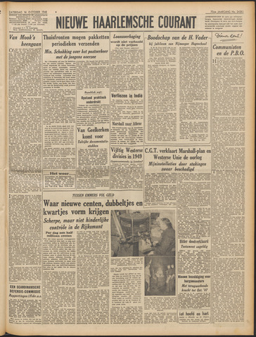 Nieuwe Haarlemsche Courant 1948-10-16