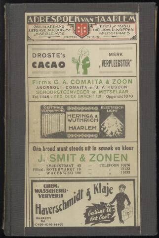 Adresboeken Haarlem 1929