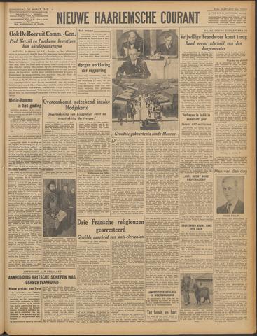 Nieuwe Haarlemsche Courant 1947-03-20