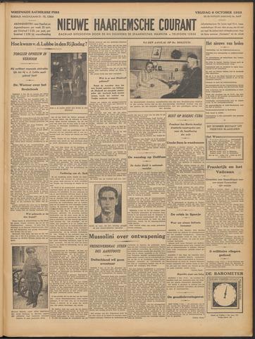 Nieuwe Haarlemsche Courant 1933-10-06