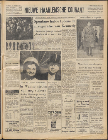 Nieuwe Haarlemsche Courant 1961-01-21