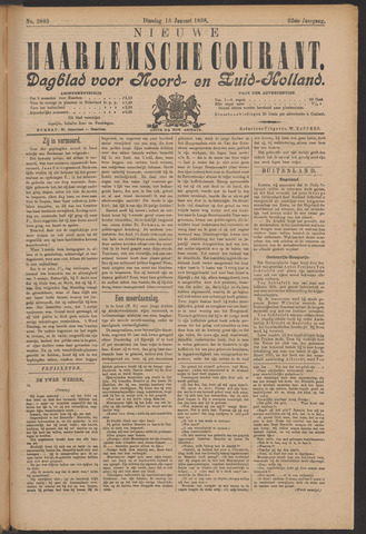 Nieuwe Haarlemsche Courant 1898-01-18