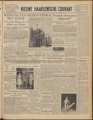 Nieuwe Haarlemsche Courant 1951-09-12