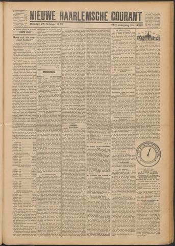 Nieuwe Haarlemsche Courant 1922-10-24