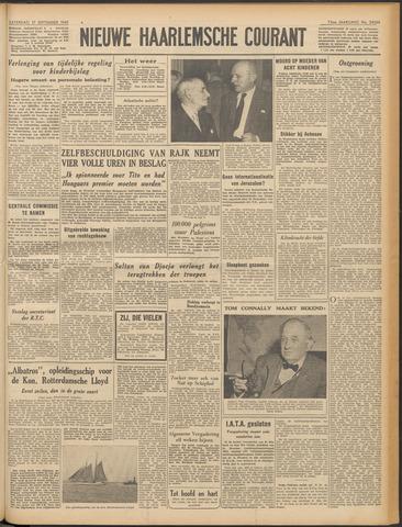 Nieuwe Haarlemsche Courant 1949-09-17