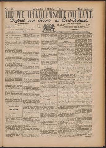 Nieuwe Haarlemsche Courant 1904-10-05