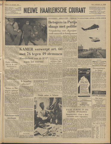 Nieuwe Haarlemsche Courant 1960-10-28