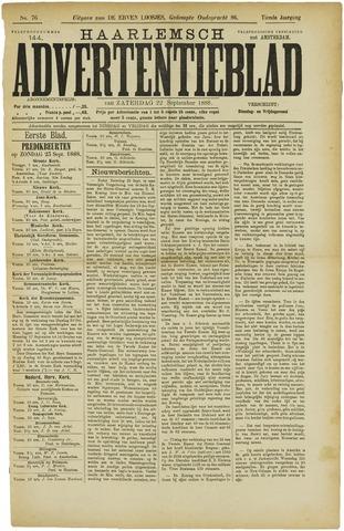 Haarlemsch Advertentieblad 1888-09-22