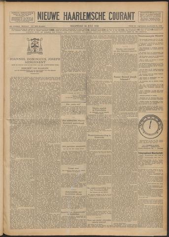 Nieuwe Haarlemsche Courant 1928-07-30