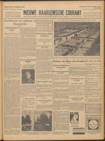 Nieuwe Haarlemsche Courant 1934-10-29