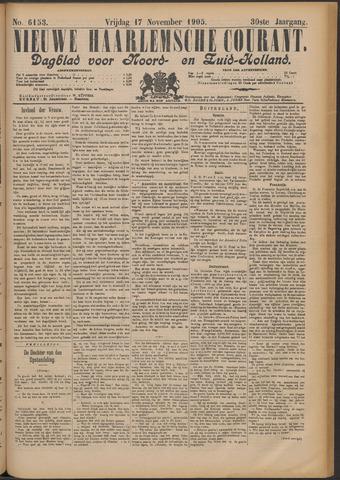 Nieuwe Haarlemsche Courant 1905-11-17