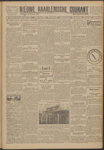 Nieuwe Haarlemsche Courant 1925-02-25